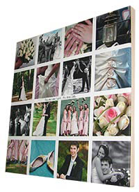 Wedding prints on canvas